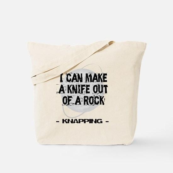 Knapping 2 Tote Bag