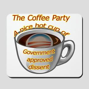 coffeeparty copy Mousepad