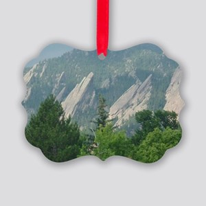 flatirons_200706_mouse Picture Ornament