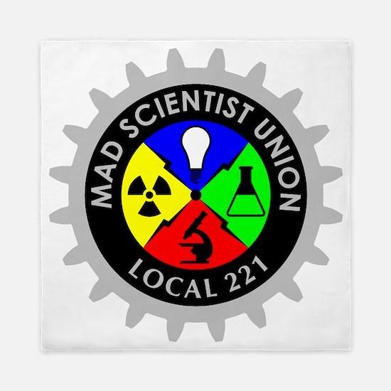 mad_scientist_union_logo_dark Queen Duvet