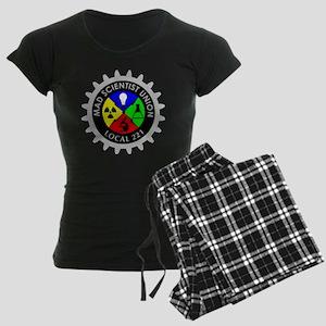 mad_scientist_union_logo_dar Women's Dark Pajamas