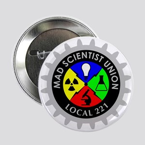 "mad_scientist_union_logo_dark 2.25"" Button"