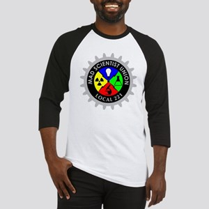 mad_scientist_union_logo_dark Baseball Jersey