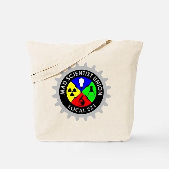 mad_scientist_union_logo_dark Tote Bag