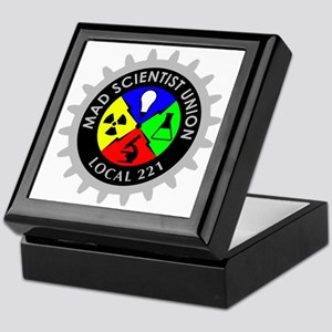 mad_scientist_union_logo_dark Keepsake Box