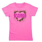 Barrel racing Girl's Dark T-Shirt