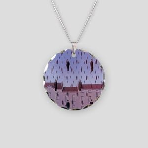 raining men Necklace Circle Charm