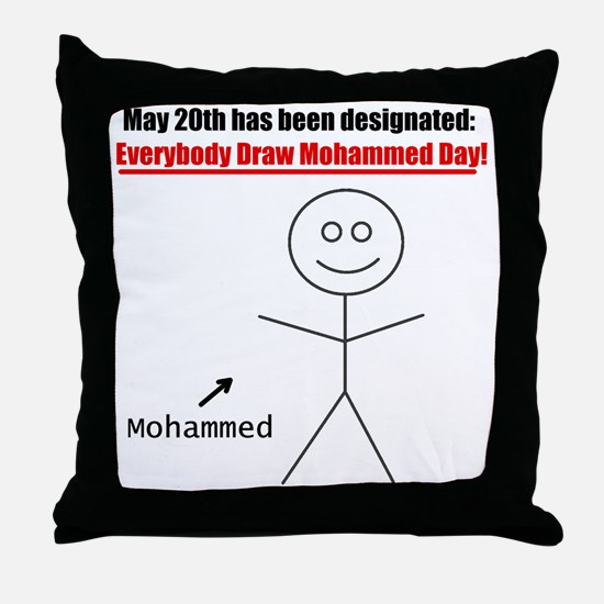 mohammedday01 Throw Pillow