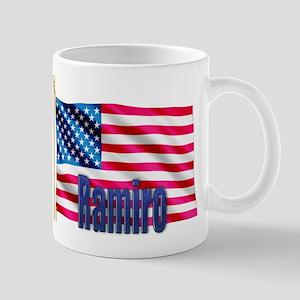 Ramiro American Flag Gift Mug