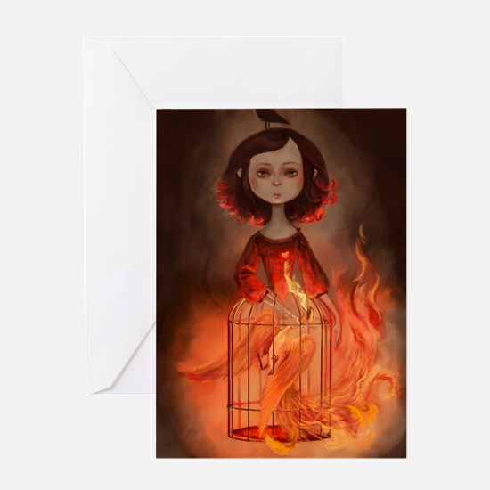 PhenixGirl Greeting Card
