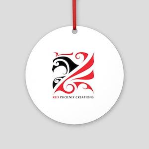 2-RPC_logo_shirt_01 Round Ornament