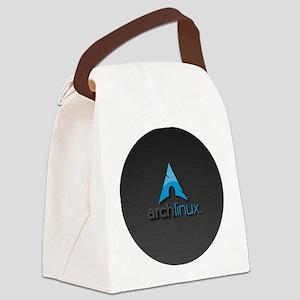 PK0043-archlinux Canvas Lunch Bag