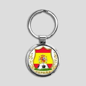 ESPAÃ?A Round Keychain