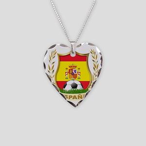 ESPAÃ?A Necklace Heart Charm