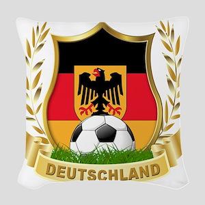 2-deutschland Woven Throw Pillow
