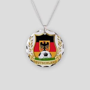 2-deutschland Necklace Circle Charm