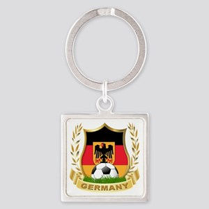 3-germany Square Keychain