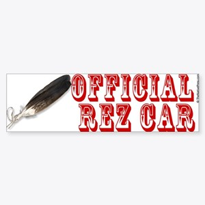 Official Rez Car Bumper Sticker