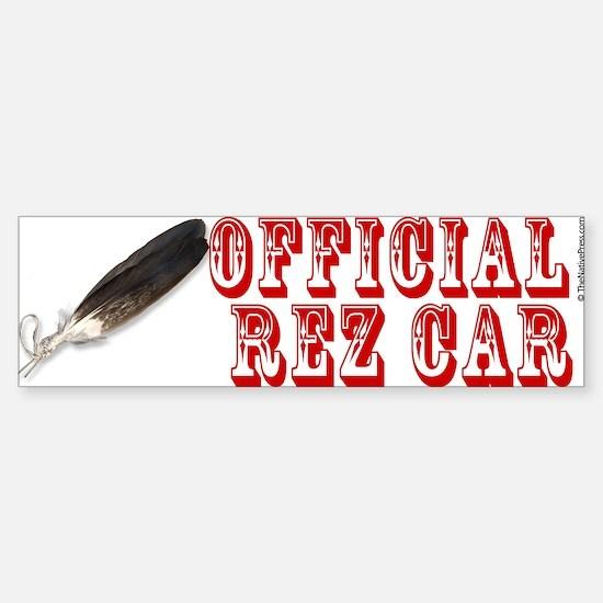 Official Rez Car Bumper Car Car Sticker