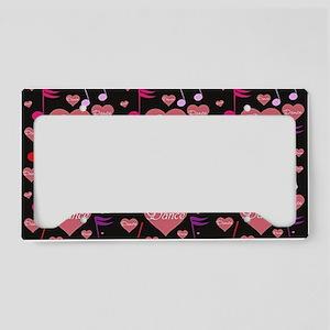 2-tile heart License Plate Holder
