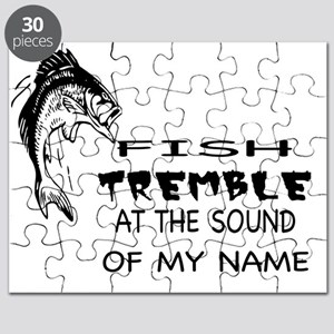 Fish Tremble at the Sound of my Name! Puzzle