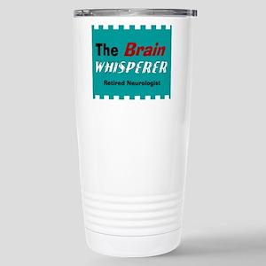 The Brain Whisperer Blanket Travel Mug