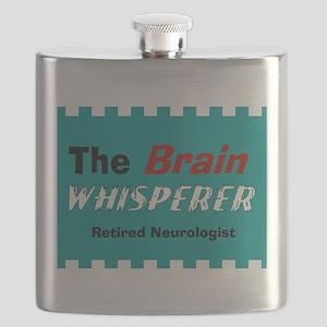 The Brain Whisperer Blanket Flask