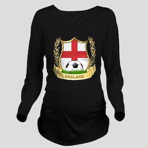 4-england Long Sleeve Maternity T-Shirt