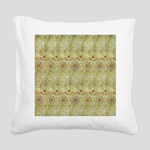 William Morris Corncockle Square Canvas Pillow