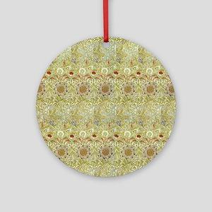 William Morris Corncockle Round Ornament