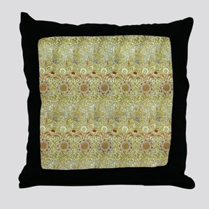 William Morris Corncockle Throw Pillow