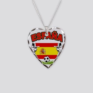4-spain Necklace Heart Charm