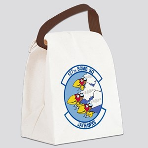 127th_bomb_sq Canvas Lunch Bag