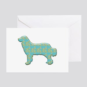 Paisley Pyrenees Greeting Cards (Pk of 10)