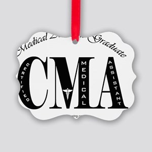 CMA-grad-bk-o Picture Ornament
