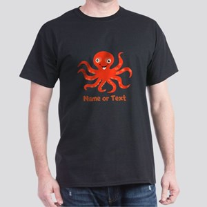 Cute Octopus Personalized Dark T-Shirt
