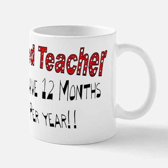 Retired Teacher Mug