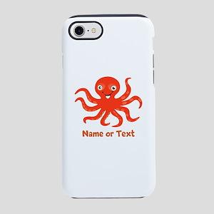 Cute Octopus Personalized iPhone 7 Tough Case