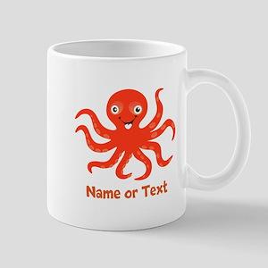 Cute Octopus Personalized 11 oz Ceramic Mug