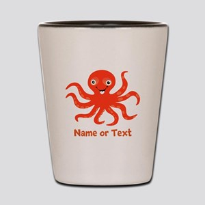 Cute Octopus Personalized Shot Glass