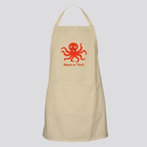 Cute Octopus Personalized Light Apron