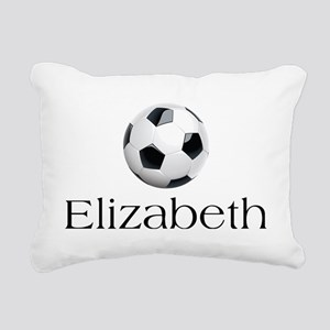 Elizabeth Soccer Rectangular Canvas Pillow