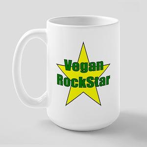 Vegan Rock Star Large Mug