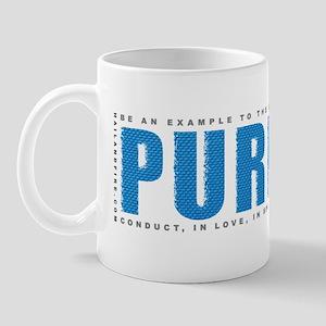 Puritan1tim4_blue-onBlk Mug