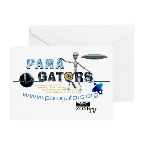 Paragators Alien_1 Greeting Card