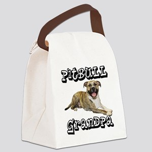 PitBullGrandpa_Tigger Canvas Lunch Bag