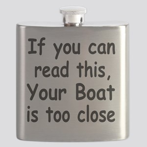 if you can read this 4 white Flask