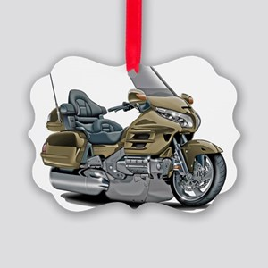 Goldwing Champagne Bike Picture Ornament
