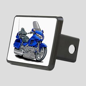 Goldwing Blue Bike Rectangular Hitch Cover