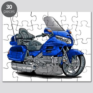 Goldwing Blue Bike Puzzle